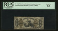 Fractional Currency:Third Issue, Fr. 1362 50¢ Third Issue Justice PCGS About New 53.. ...