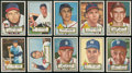 Baseball Cards:Lots, 1952 Topps Baseball Collection (18) - Freshly Discovered!...