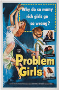 Memorabilia:Poster, Problem Girls Movie Poster (Columbia, 1953)....
