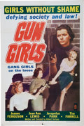 Memorabilia:Poster, Gun Girls Movie Poster (Astor, 1957)....