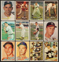 Baseball Cards:Sets, 1957 Topps Baseball Partial Set (352). ...