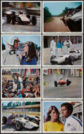 "Movie Posters:Sports, Grand Prix (MGM, 1967). Color Photo Set of 16 (8"" X 10""). Sports.. ... (Total: 16 Items)"