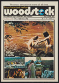 "Movie Posters:Rock and Roll, Woodstock (Warner Brothers, 1970). Japanese Program (8 Pages, 10"" X14.25"" ). Rock and Roll.. ..."