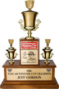 Miscellaneous Collectibles:General, 1998 Jeff Gordon NASCAR Winston Cup Championship Trophy....