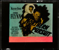 "Movie Posters:Adventure, Northern Pursuit (Warner Brothers, 1943). Glass Slide (2.5"" X 3"").Adventure.. ..."
