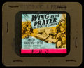 "Movie Posters:War, Wing and a Prayer (20th Century Fox, 1944). Glass Slide (3.25"" X4). War.. ..."