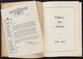 """Movie Posters:Miscellaneous, Tiffany Productions Exhibitor Book (Tiffany, 1926). Hardbound Exhibition Brochure (Multiple Pages, 9.5"""" X 12.5""""). Miscellane..."""
