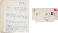 Carl Barks Correspondence Group (1960-62).... (Total: 23 Items)