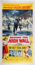 Memorabilia:Poster, Behind the High Wall Movie Poster (Universal-International,1956)....