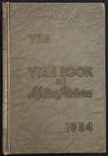 """Movie Posters:Miscellaneous, Film Daily Year Book of Motion Pictures (Film and Television Daily, 1954). Hard Cover Book ((1284 Pages, 6.5"""" X 9""""). Miscel..."""