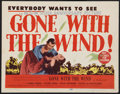 "Movie Posters:Academy Award Winners, Gone with the Wind (MGM, R-1947). Title Lobby Card (11"" X 14"").Academy Award Winners.. ..."