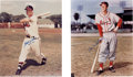 Baseball Collectibles:Photos, Baseball Greats Signed Oversized Photographs Lot of 4....