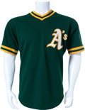 Baseball Collectibles:Uniforms, Reggie Jackson Signed Jersey....