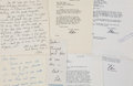 Movie/TV Memorabilia:Memorabilia, A Peter Bogdanovich Group of Signed and/or HandwrittenCorrespondence, 1970s....