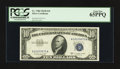 Small Size:Silver Certificates, Fr. 1708 $10 1953B Silver Certificate. PCGS Gem New 65PPQ.. ...