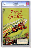 Golden Age (1938-1955):Science Fiction, Four Color #247 Flash Gordon (Dell, 1949) CGC FN/VF 7.0 Cream tooff-white pages....