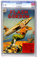 Golden Age (1938-1955):Science Fiction, Four Color #204 Flash Gordon (Dell, 1948) CGC VF- 7.5 Cream tooff-white pages....
