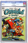 Golden Age (1938-1955):Funny Animal, Four Color #273 Oswald the Rabbit (Dell, 1950) CGC FN+ 6.5Off-white pages....