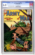 Golden Age (1938-1955):War, Our Army at War #34 (DC, 1955) CGC FN 6.0 Cream to off-whitepages....