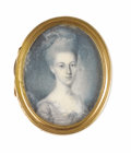 Fine Art - Painting, American:Antique  (Pre 1900), Charles Willson Peale (American, 1741-1827). . CatherineAlexander (Lady Kitty) Duer (1755-1826). Undated. Watercolo...