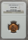 Proof Lincoln Cents, 1909 1C PR64+ Red and Brown NGC....