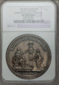 Betts Medals, 1783 Treaty of Paris Medal -- Scratches -- NGC Details. XF.Betts-608....