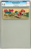 Golden Age (1938-1955):Cartoon Character, Wheaties (Premiums) C3 Li'l Bad Wolf (Walt Disney Productions,1951) CGC NM/MT 9.8 Off-white to white pages....