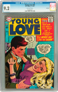 Silver Age (1956-1969):Romance, Young Love #58 Savannah pedigree (DC, 1966) CGC NM- 9.2 Off-whitepages....