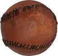 Autographs:Baseballs, Circa 1915 Eddie Plank Single Signed Baseball, Only ExampleKnown!...