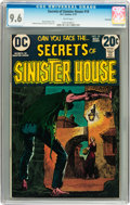 Bronze Age (1970-1979):Horror, Secrets of Sinister House #10 Savannah pedigree (DC, 1973) CGC NM+9.6 White pages....