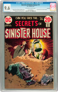 Bronze Age (1970-1979):Horror, Secrets of Sinister House #11 Savannah pedigree (DC, 1973) CGC NM+9.6 Off-white to white pages....