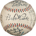 Autographs:Baseballs, 1926 New York Yankees Team Signed Baseball from The Lou GehrigCollection, Finest Example Known....