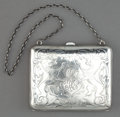 Silver Holloware, American:Other , A BLACKINTON SILVER PURSE . R. Blackinton & Co., North Attleboro, Massachusetts, circa 1880. Marks: (sword with B), STER...