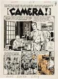 "Original Comic Art:Complete Story, John Severin Extra #1 Complete 6-page Steve Rampart Story""Camera"" Original Art (EC, 1955)...."