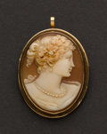 Estate Jewelry:Cameos, Early Fine Cameo. ...