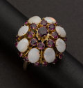 Estate Jewelry:Rings, Opal & Ruby Ring. ...