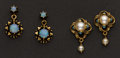 Estate Jewelry:Earrings, Pearl & Opal Earrings. ...