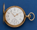 Timepieces:Pocket (post 1900), Vacheron & Constantin 14k Gold 49 mm Hunter's Case For Welsh& Bro. ...