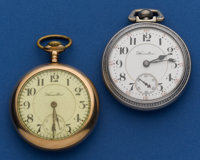 Two - Hamilton's 21 Jewel 940 And A 19 Jewel 944 Pocket Watches