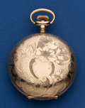 Timepieces:Pocket (post 1900), Swiss 18 Size Southern Express Railroad Style Pocket Watch. ...