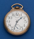 Timepieces:Pocket (post 1900), Waltham 23 Jewel Vanguard With Wind Indicator Pocket Watch. ...