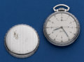 Timepieces:Pocket (post 1900), Elgin 21 Jewel B.W. Raymond Military Wind Indicator Pocket Watch....