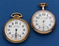 Timepieces:Pocket (post 1900), New York Standard & Hamilton Special 16 Sizes Pocket WatchesRunners. ... (Total: 2 Items)