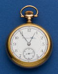 Timepieces:Pocket (post 1900), Hampden 21 Jewel 18 Size John Hancock Pocket Watch. ...
