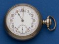 Timepieces:Pocket (post 1900), Howard & Co. Fancy Dial Series VII Pocket Watch. ...