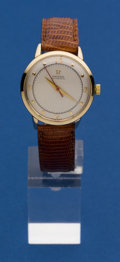 Timepieces:Wristwatch, Omega Choice 14k Automatic, circa 1950. ...