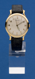 "Timepieces:Wristwatch, Hamilton 10k Gold ""Coleman"" Model, circa 1946. ..."