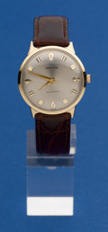 Timepieces:Wristwatch, Croton Very Fine 14k Gold Automatic. ...