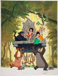 Animation Art:Production Drawing, Paul Wenzel Walt Disney's The Jungle Book IllustrationOriginal Art (undated). ...