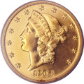 Proof Liberty Double Eagles, 1903 $20 PR64 PCGS. CAC....